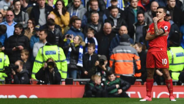 <p>He's been desperately poor since he returned from a two-month ankle lay off sustained against Sunderland back in November.</p> <br><p>Under the bright sun on Liverpool's hallowed turf, however, Philippe Coutinho rose once more to torment Everton and put in a Man-of-the-Match display in front of his adoring fans.</p> <br><p>The Brazilian forward's deft touches, succinct feet, movement and vision left Everton's defence bamboozled all afternoon until he was replaced by the emergent talent of Trent Alexander-Arnold late on.</p> <br><p>His goal was also as sumptuous as they come and, had it not been for Divock Origi's strike on the hour mark, his 32nd minute effort would have been a worthy winner due to its sheer brilliance.</p>