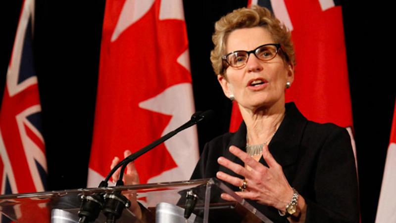 Kathleen Wynne press conference
