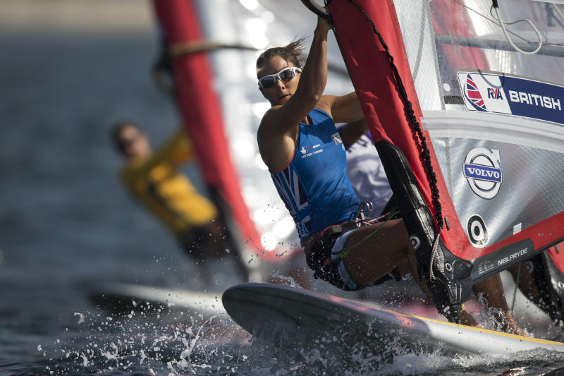 Mixed feelings about sailing in polluted Rio bay