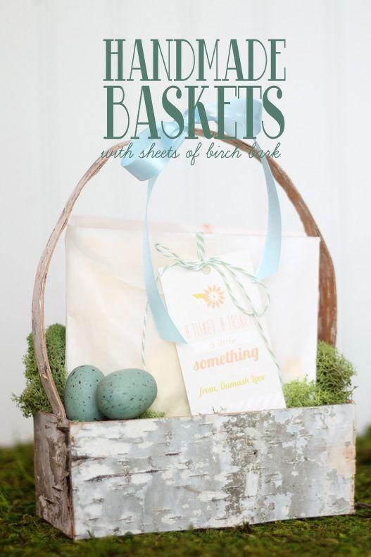 """<p>Take an old cardboard box and cover it with sheets of birch bark for a centerpiece-worthy basket that Chip and Joanna would approve of. </p><p><a href=""""http://www.damasklove.com/handmade-basket-birch-bark/"""" rel=""""nofollow noopener"""" target=""""_blank"""" data-ylk=""""slk:Get the tutorial from Damask Love »"""" class=""""link rapid-noclick-resp""""><em>Get the tutorial from Damask Love »</em></a></p>"""