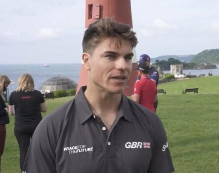 Great Britain's Richard Mason was speaking at the launch of SailGP's Impact League in Plymouth