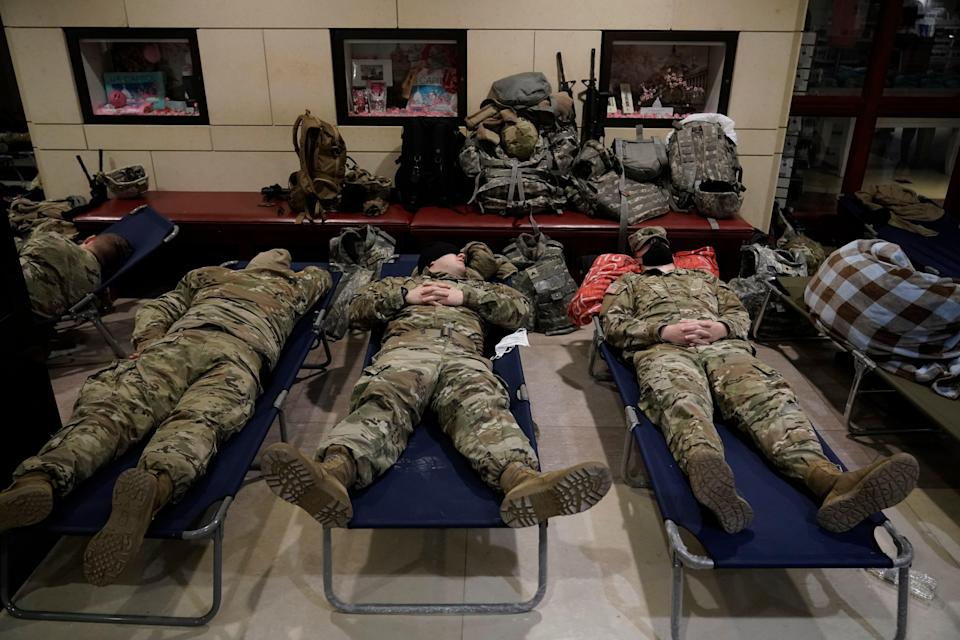 National Guard (Copyright 2021 The Associated Press. All rights reserved)