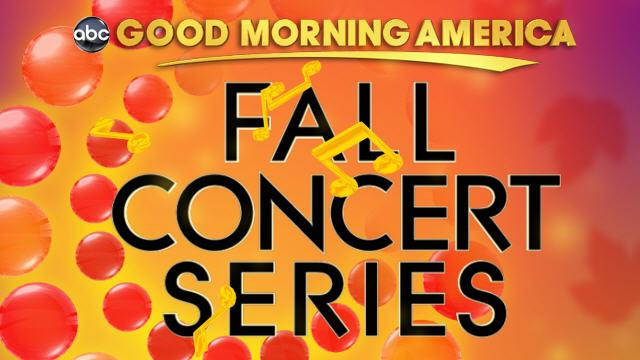 Good morning america fall concert series