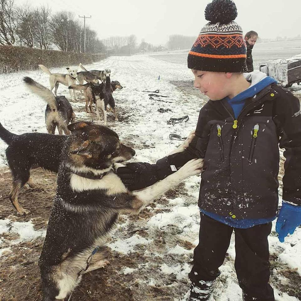 Samantha's son Archie has a special bond with the animals(Collect/PA Real Life).