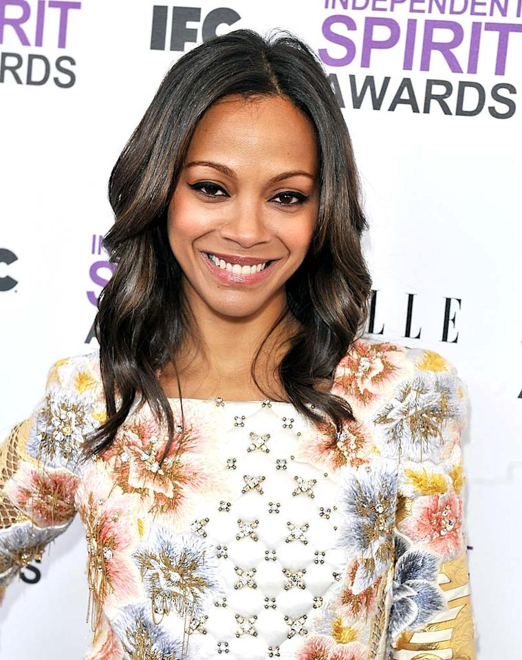 """<p class=""""MsoNoSpacing"""">Zoe Saldana credits her flawless and line-free complexion to a beauty secret anyone can afford: SPF. """"People assume that if you have dark skin, you won't burn,"""" says the """"Colombiana"""" actress, who is of Dominican and Puerto Rican descent. Another trick Saldana, 33, has had since her teen years is <b><span style=""""font-weight:normal;"""">Diamond Microdermabrasion</span></b> <span class=""""itxtrst"""">skin</span> treatments, which exfoliate the top layer of skin.</p>"""