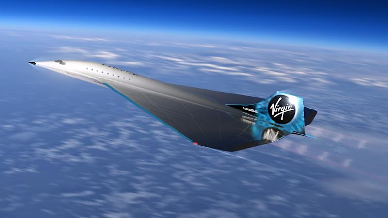 Virgin Galactic has partnered with Rolls-Royce to develop the supersonic aircraft (PA)