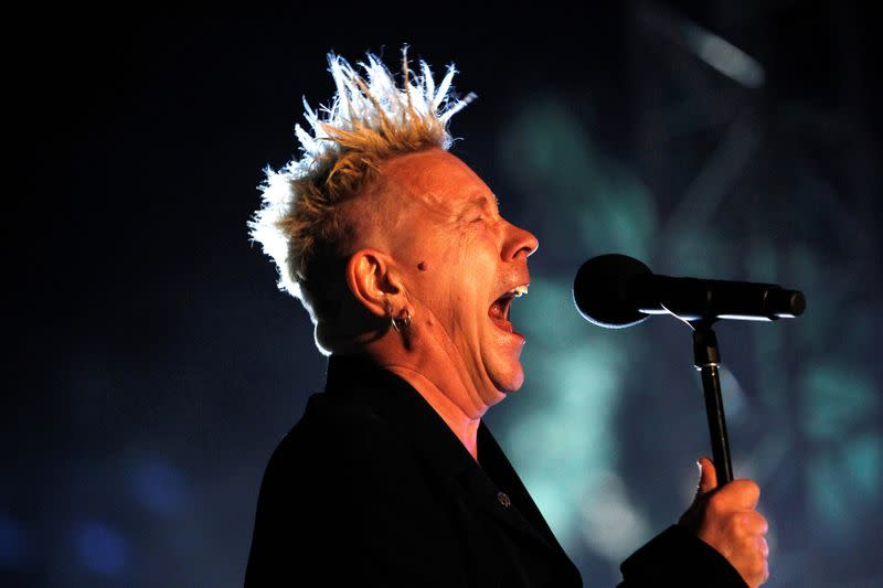 FILE PHOTO: John Lydon of Public Image Ltd. performs at the Coachella Music Festival in Indio