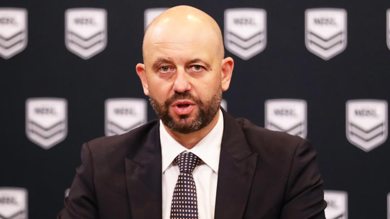 The NRL is facing sponsors walking away from the game, according to a contract lawyer. (Getty Images)