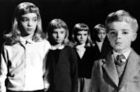 <p>Watch out for the kids with the glowing eyes. In the 1960 horror classic 'Village of the Damned,' they're responsible for a string of mysterious deaths in the British village of Midwich — where everyone who enters falls unconscious.(Photo: Everett)</p>