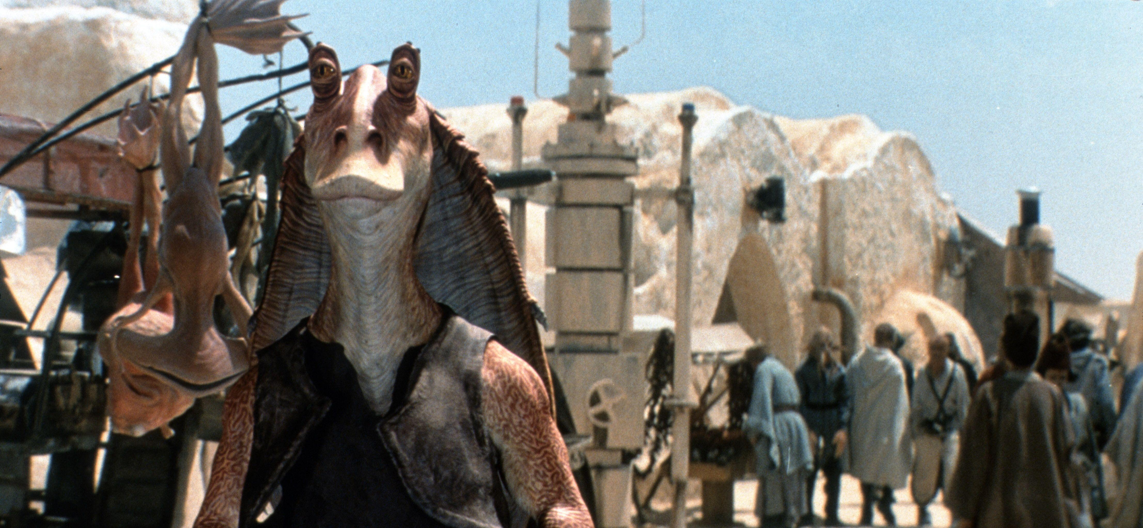 Jar-Jar Binks emerged as the target of fan ire after the release of 'The Phantom Menace' in 1999 (Photo: Lucasfilm Ltd./courtesy Everett / Everett Collection)