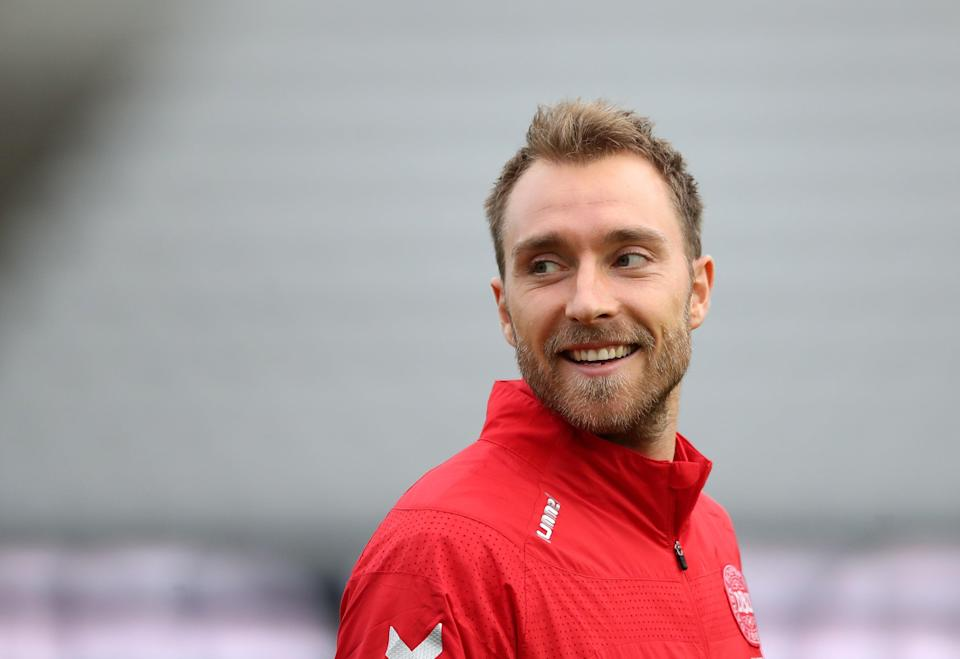 Denmark's Christian Eriksen is undergoing tests in hospital following his collapse (PA Wire)
