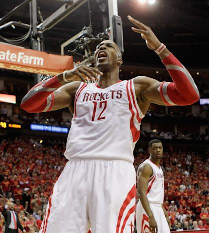 Dwight Howard passed on an offer from the Mavs the summer he signed with the Rockets. (Getty Images)