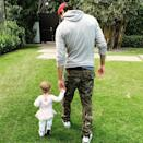 """<p>On International Women's Day in 2019, the singer celebrated with a photo holding hands with his daughter, Lucy. """"Celebrating all the women around the world today, and every day,"""" he <a href=""""https://www.instagram.com/p/BuwhPHaBWgT/"""" rel=""""nofollow noopener"""" target=""""_blank"""" data-ylk=""""slk:captioned the sweet photo"""" class=""""link rapid-noclick-resp"""">captioned the sweet photo</a>. </p>"""