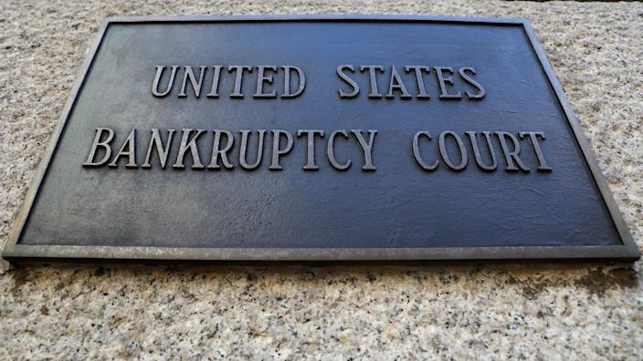 A plaque is displayed at the entrance of the U.S. District Bankruptcy Court for the Southern District of New York in Manhattan, New York, U.S., January 9, 2020. (Photo: REUTERS/Brendan McDermid)