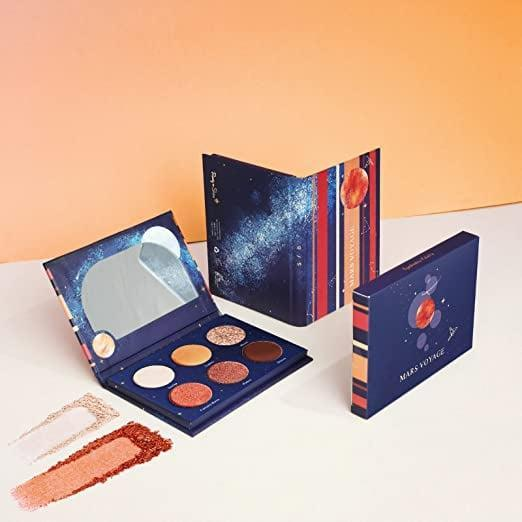 <p>Embrace the galactic, warm-toned vibes of the <span>Mars Voyage Pocket-Sized Mini Eyeshadow Palette </span> ($8, originally $14). Your eyeshadow game will be out of this world!</p>
