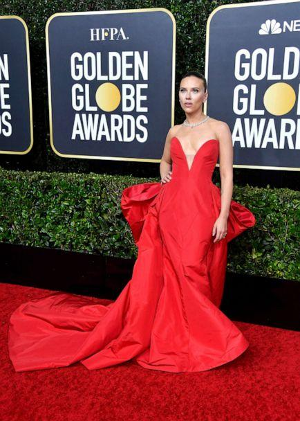 PHOTO: Scarlett Johansson attends the 77th Annual Golden Globe Awards at The Beverly Hilton Hotel on Jan. 05, 2020, in Beverly Hills, Calif. (Frazer Harrison/Getty Images)