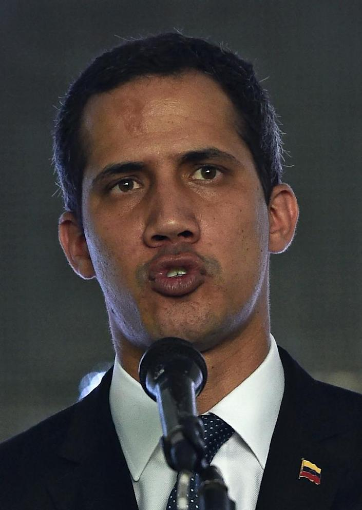 Although Maduro has the upper hand domestically, abroad, Guaido is buoyed by US sanctions against Maduro's regime (AFP Photo/Federico PARRA)