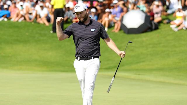 A Sunday round featuring eight birdies and an eagle saw Branden Grace secure victory at the South African Open.