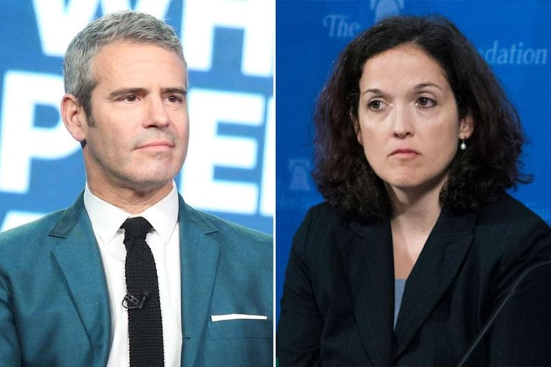 Andy Cohen; Sarah Pitlyk   Frederick M. Brown/Getty; Tom Williams/CQ Roll Call/ Getty