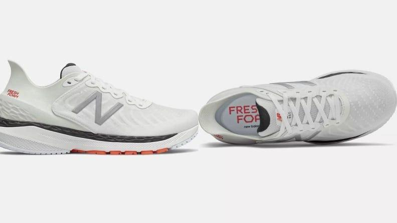 New Balance's 860v11 has sustained cushioning for supportive runs.