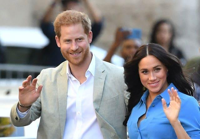 Harry and Meghan have bought a US home and signed lucrative contracts since moving to America. Dominic Lipinski/PA Wire