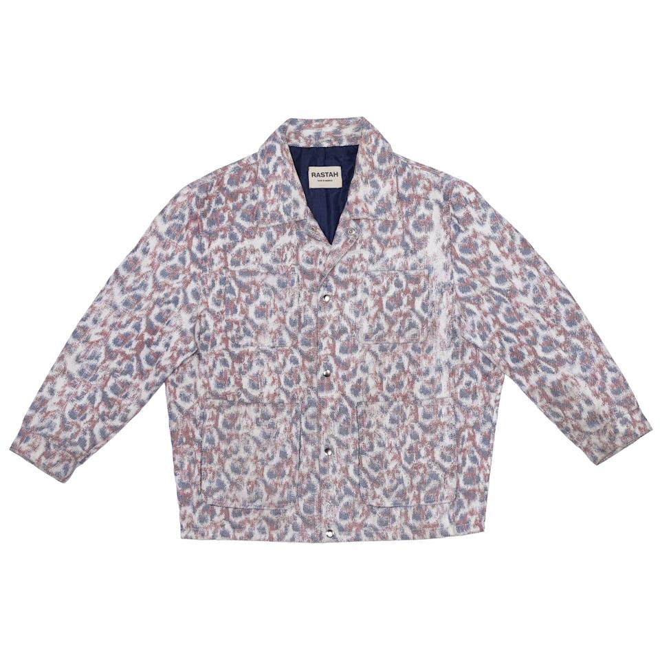 """<p><strong>Rastah</strong></p><p>rastah.co</p><p><strong>$600.00</strong></p><p><a href=""""https://rastah.co/products/warp-printed-hand-woven-coach-jacket?variant=39304846803022"""" rel=""""nofollow noopener"""" target=""""_blank"""" data-ylk=""""slk:Shop Now"""" class=""""link rapid-noclick-resp"""">Shop Now</a></p><p>I see your coach's jacket and raise you an incredibly complex warp-printing process that takes around seven days to produce and winds up looking so good that it's clear it was time well spent.</p>"""
