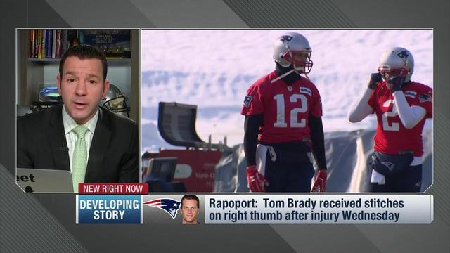 NFL Network Insider Ian Rapoport and Kimberly Jones have the latest on Tom Brady's thumb injury and what his status looks like moving forward.