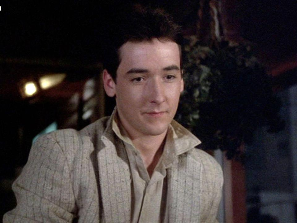 "<p>What romantic moment can top the boom box scene in <em>Say Anything? </em>Aside from Peter Gabriel's song ""In Your Eyes"" being synonymous with that moment, the true breakout was John Cusack. He enjoyed major success in the '80s with roles in <em>Sixteen Candles, </em><em>Better off Dead, </em>and <em>Stand by Me. </em>Cusack went on to star in the blockbusters <em>Bullets over Broadway, Grosse Pointe Blank, Being John Malkovich,</em> and <em>High Fidelity.</em></p>"