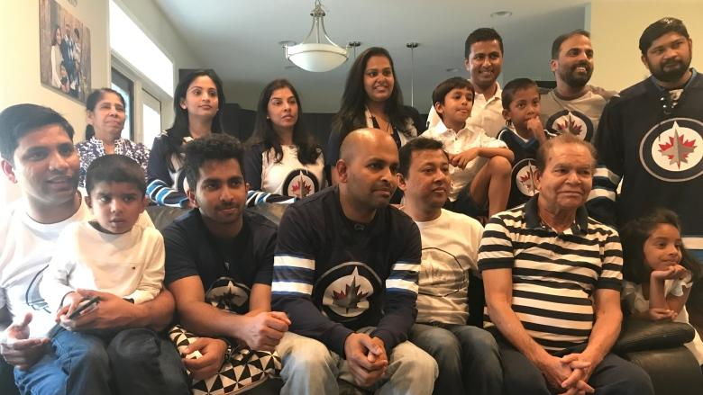 A reason to come together: Family from India discovers passion for hockey during Winnipeg Jets playoff run
