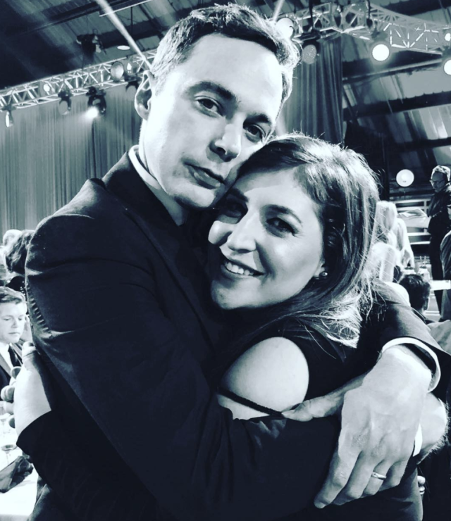 "<p>""Well deserved,"" the <em>Big Bang Theory</em> actor wrote, congratulating his onscreen love, Mayim Bialik, on her Critics' Choice Award for Best Supporting Actress in a Comedy Series. ""How lucky am I, to play your betrothed? I truly adore you."" (Photo: <a href=""https://www.instagram.com/p/Bd1VjjHnWyP/?taken-by=therealjimparsons"" rel=""nofollow noopener"" target=""_blank"" data-ylk=""slk:Jim Parsons via Instagram"" class=""link rapid-noclick-resp"">Jim Parsons via Instagram</a>) </p>"