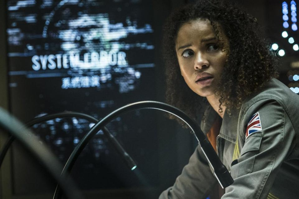 Gugu Mbatha-Raw in The Cloverfield ParadoxNetflix