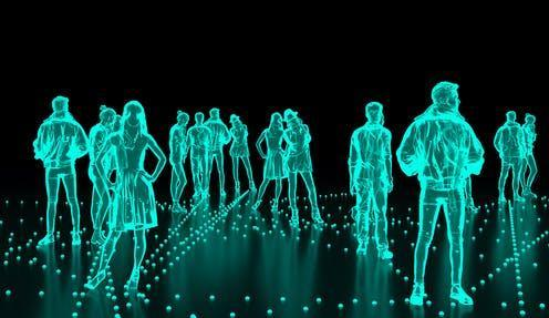 """<span class=""""caption"""">Holograms with a sense of touch are being created at Glasgow University.</span> <span class=""""attribution""""><span class=""""source"""">Design_cells/Shutterstock</span></span>"""