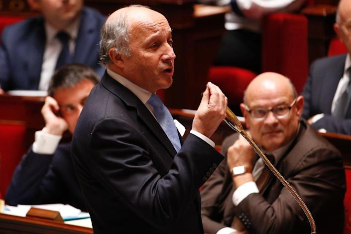 French Foreign Minister Laurent Fabius (pictured) summoned the US ambassador over leaked documents that suggest her government spied on President Francois Hollande and two predecessors (AFP Photo/Francois Guillot)