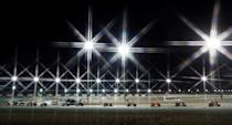 Lights on, and they're off in Losail