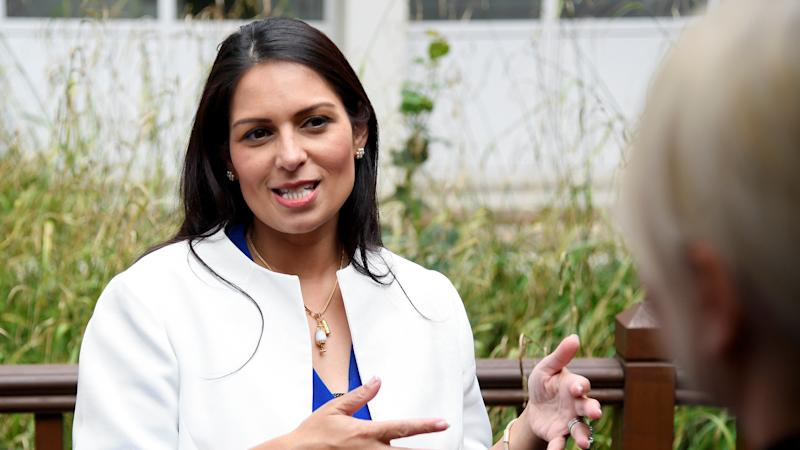 Priti Patel wants criminals to 'feel terror' and denies death penalty support