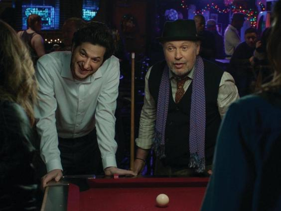Ben Schwartz and Billy Crystal in 'Standing Up, Falling Down' (Whitewater Films)