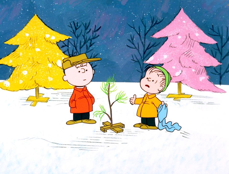 Charlie Brown and Linus wrestle with the meaning of Christmas in 'A Charlie Brown Christmas' (Photo: United Features Syndicate/Courtesy Everett Collection)