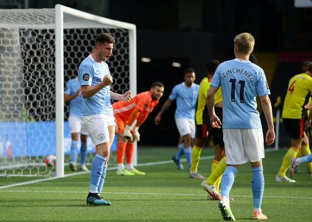 Manchester City won their fourth consecutive match in the Premier League with a 4-0 victory at Watford