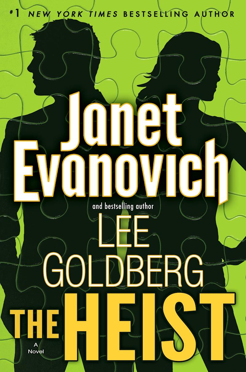 "This book cover image released by Bantam shows ""The Heist,"" by Janet Evanovich and Lee Goldberg. (AP Photo/Bantam)"