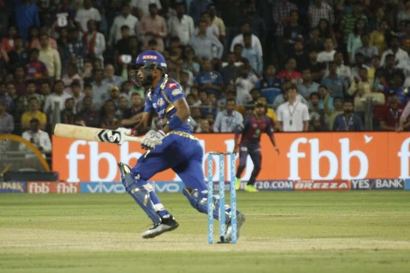 Pandya hit a quick-fire 35 to help Mumbai to a respectable total. At the end of the penultimate over of Mumbai Indians' innings, the score read 154/7 and the Mumbai Indians captainwould have been a worried man. MI had lost Pollard to a stunning catch from Mayank Agarwal early in the over, just when he looked set and ready to take toll of the last couple of overs.Smith had one over each of Zampa's leg spin and Bhatia's deceptive medium pace, but went for Dinda's pace. In the next six deliveries, the move spectacularly backfired as Hardik Pandya changed the game altogether. If Dinda's reputation of leaking runs in limited overs games was not already known to Smith, this over of 30 runs – the most expensive ever final over of an IPL innings – would have driven home the point.The six deliveries yielded four sixes and a four as Mumbai cruised to 184.