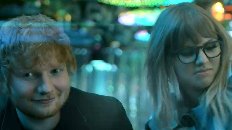 Taylor Swift Parties With Ed Sheeran and Future in First Look at 'End Game' Music Video