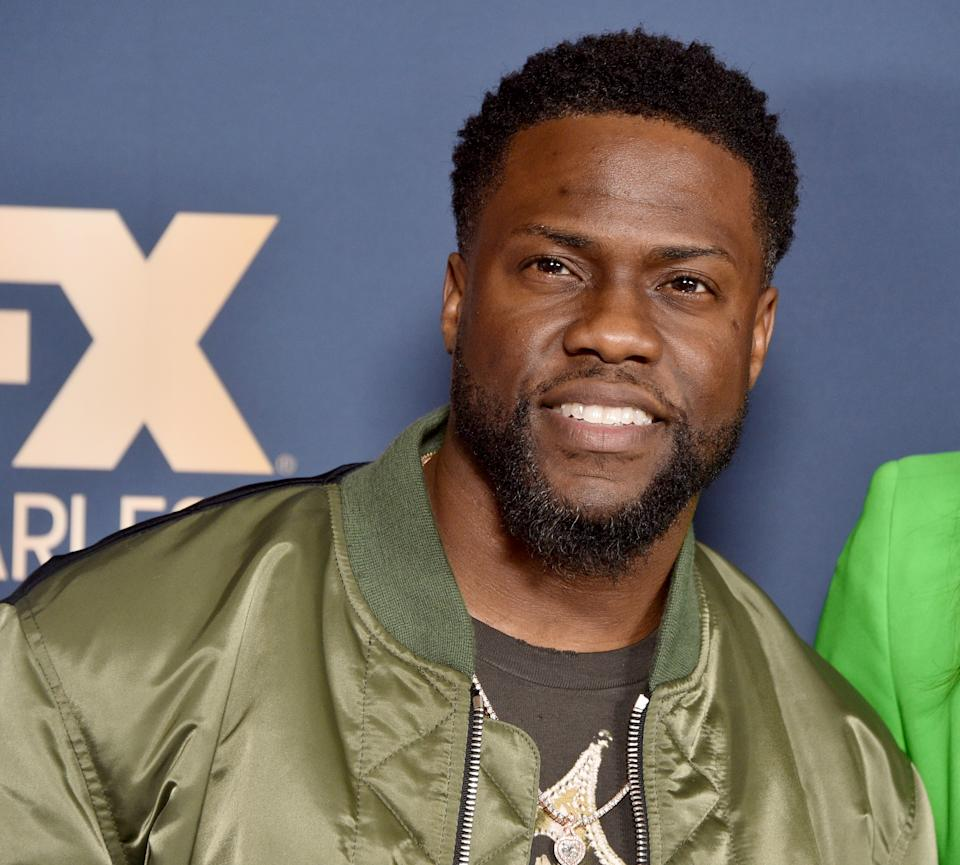 Actor and comedian Kevin Hart, 41, spoke to Sunday TODAY's Willie Geist to discuss his desire to change the way black fathers are portrayed onscreen.  (Photo: Gregg DeGuire / WireImage)