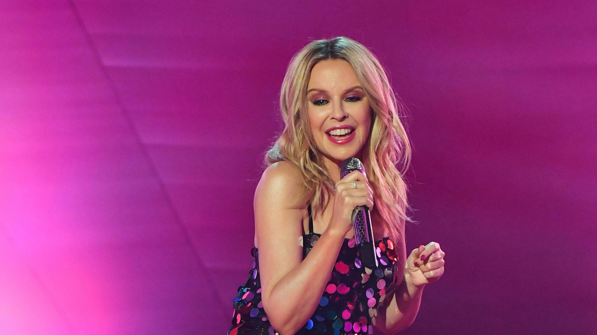 Kylie Minogue and Dolly Parton share Pudsey jokes in Children In Need sketch