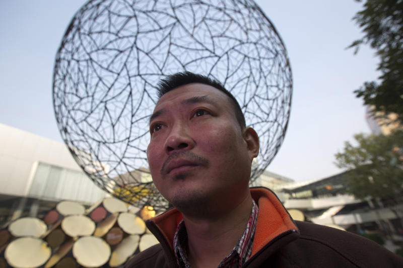 Chinese journalist tries to crowdfund his career