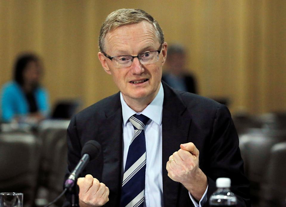 Australia's new Reserve Bank of Australia (RBA) Governor Philip Lowe speaks at a parliamentary economics committee meeting in Sydney, September 22, 2016.      REUTERS/Jason Reed