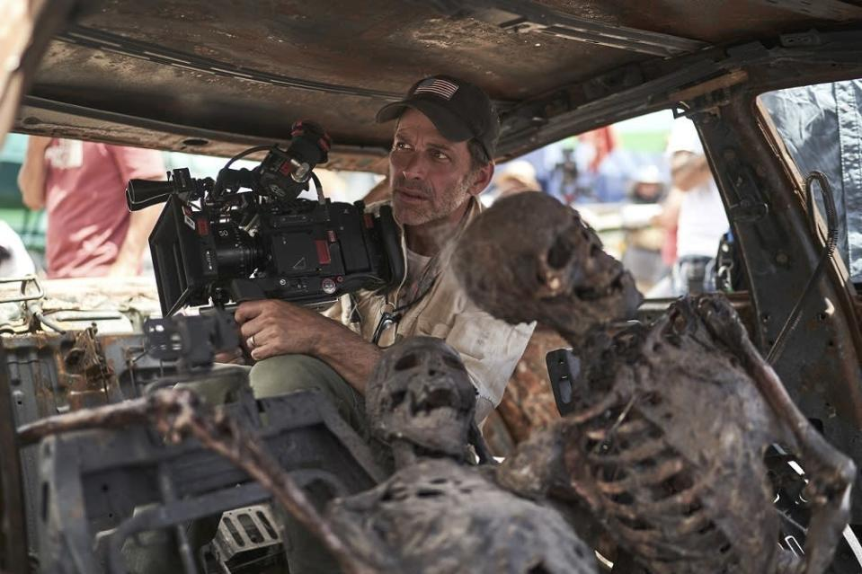 Snyder said 'Army of the Dead' had budgeting issues and Warner Bros. wasn't keen on the project which led to its delay.  —  Picture courtesy of Netflix