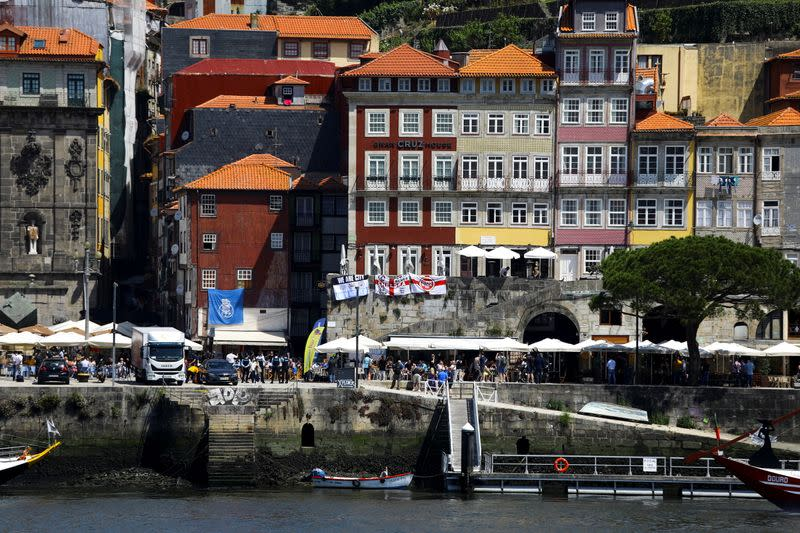 Porto is seen as Portugal's northern city prepares to host the Champions League final between Manchester City and Chelsea, in Porto