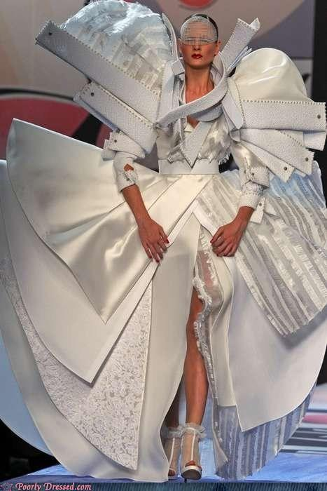 """<div class=""""caption-credit""""> Photo by: poorlydressed.failblog.org</div>The Attack of the Sewing Machine Look"""