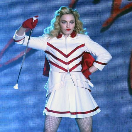Madonna auctions tour outfits for charity