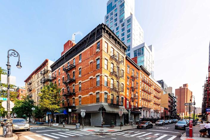 East Village in New York City, USA